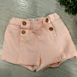 9-12 months zara shorts